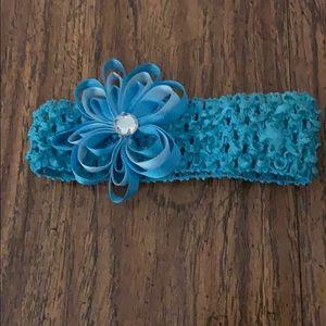 Baby blue headband